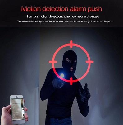 Ampoule intelligente camera surveillance detection