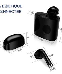 Ecouteurs Bluetooth universels sans fil dimensions