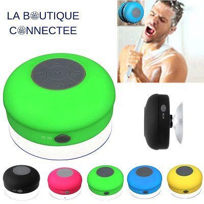Enceinte bluetooth portable etanche waterproof watts