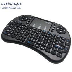 clavier sans fil avec touchpad et pavé numérique