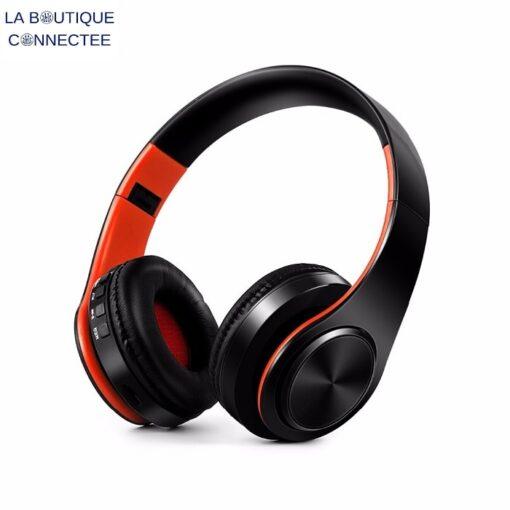 Casque Audio Sans Fil Bluetooth Pliable X7