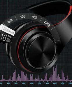 Casque audio bluetooth avec lecteur micro sd