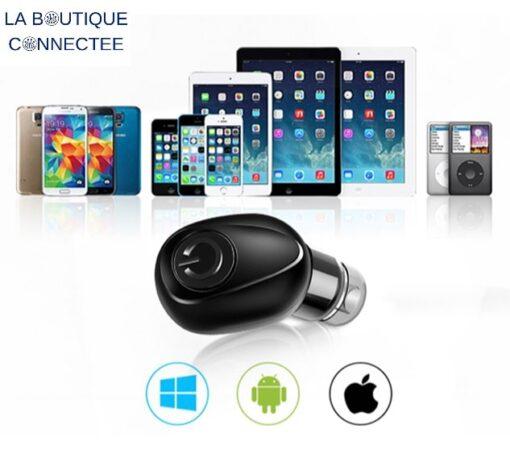 ecouteurs sans fils bluetooth 5.0 apple android