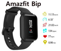 Montre Connectée Xiaomi Huami Amazfit Bip (version internationale) noir_resultat