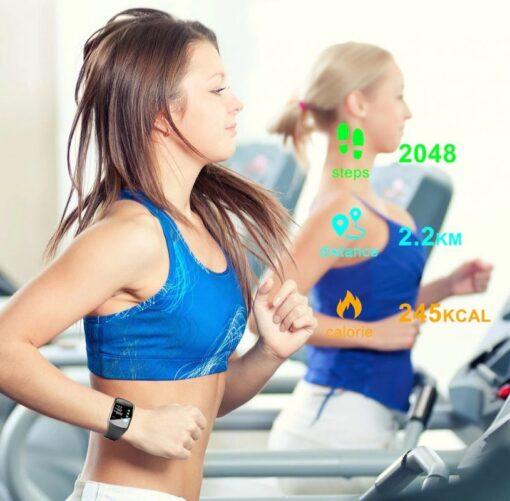 Montre connectée bracelet sport SB7 cardio