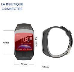Montre connectée bracelet sport SB7 dimensions