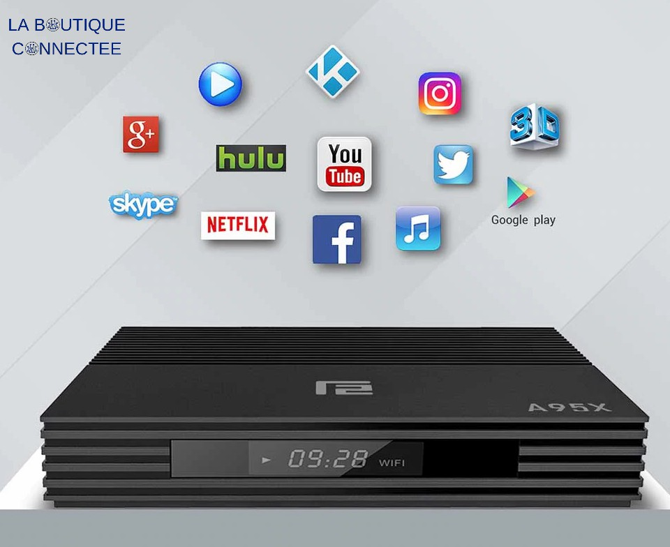 Smart TV Box Android 9 applications