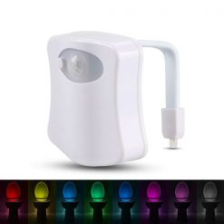 Lampe de toilette LED 8 couleurs enfants