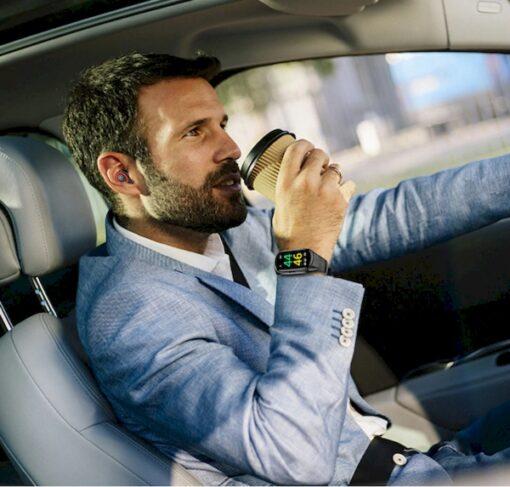 Montre Connectée Écouteurs Bluetooth Intégrés homme