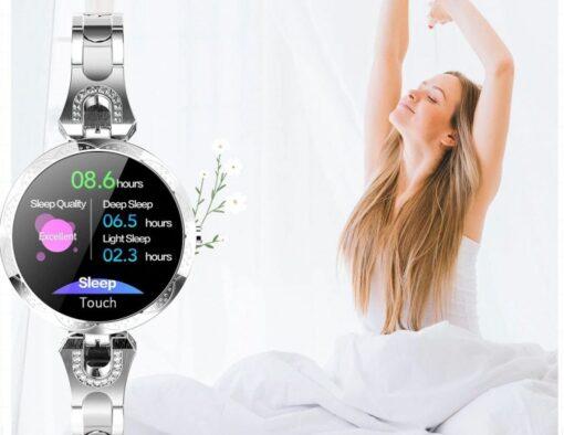 Montre Connectée Bijoux Femme moniteur sommeil