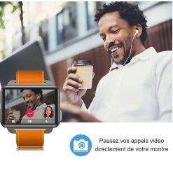 Montre Connectée Grand Ecran Android 5.1