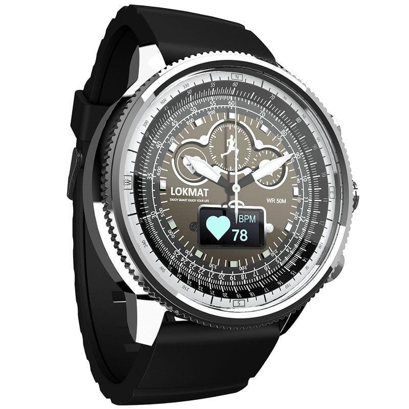 Bracelet Silicone Argent