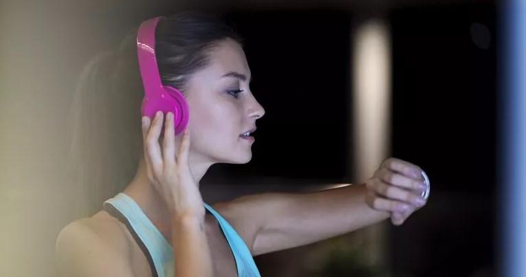 Montre connectée et écoute de musique