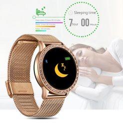 Montre Connectée Femme Luxe LE7 sommeil