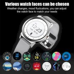 montre connectée plein ecran tactile RS30 accueil